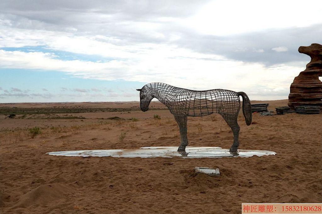 不锈钢镂空马