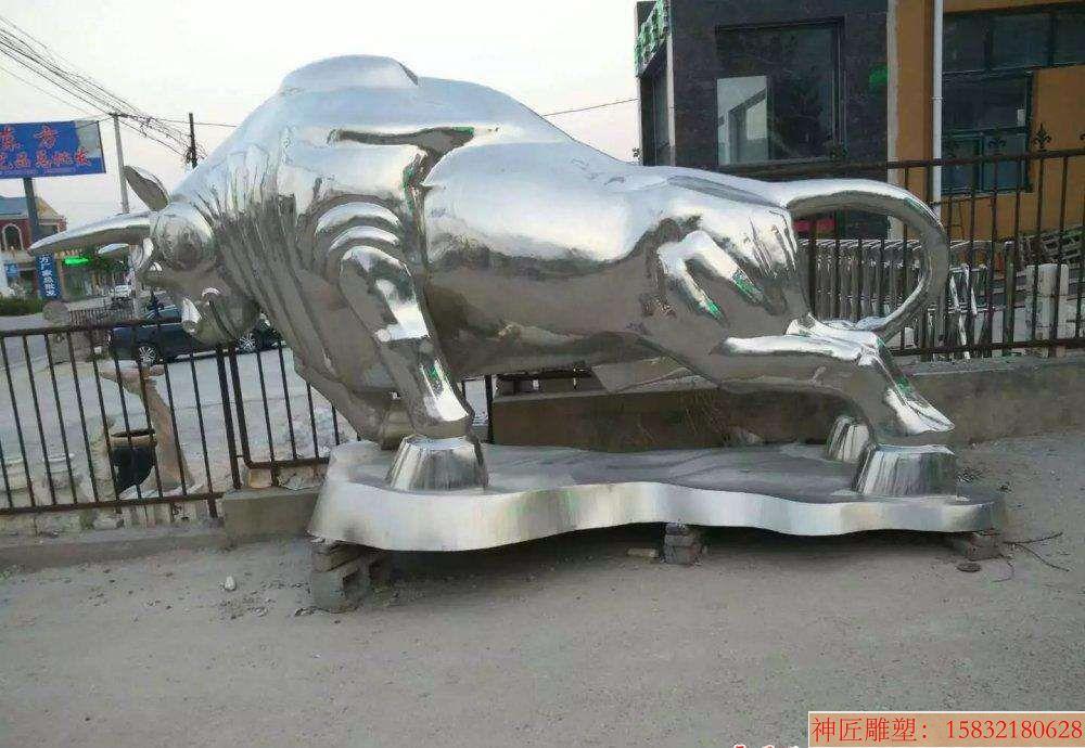 不锈钢牛1