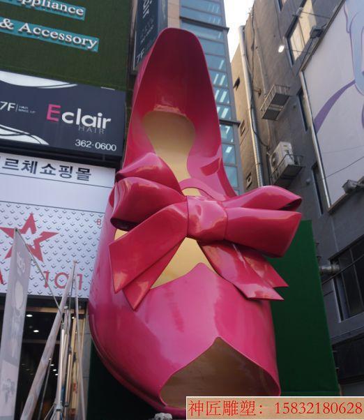 高跟鞋雕塑