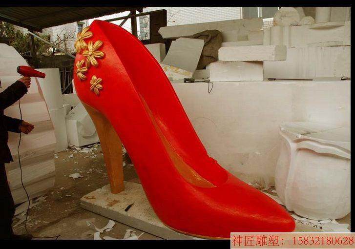 高跟鞋雕塑22